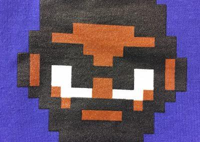 Mega Ran 8-bit print