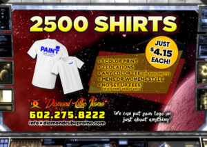 custom shirts screen printing embroidery scottsdale 85251 phoenix tempe t shirts polo shirts promo products